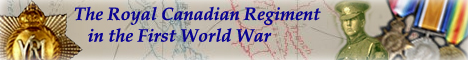 The Royal Canadian Regiment in the First World War