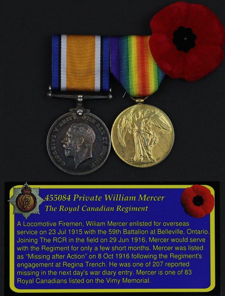 455084 Private William Mercer