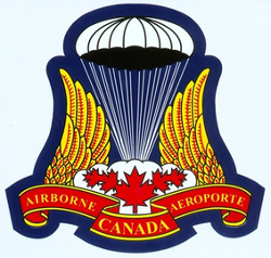 Crest of the Canadian Airborne Regiment.