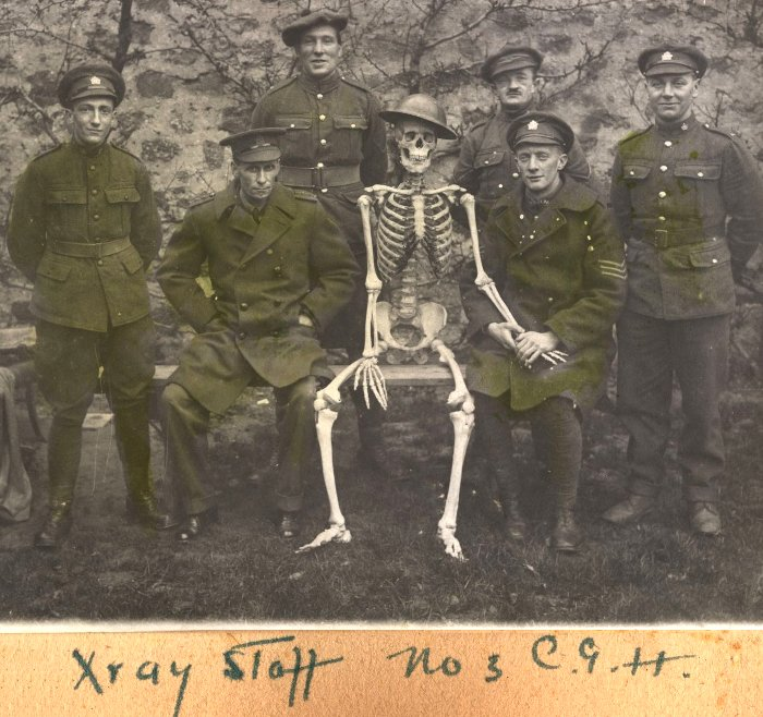 The X-Ray Staff; No. 3 Canadian General Hospital