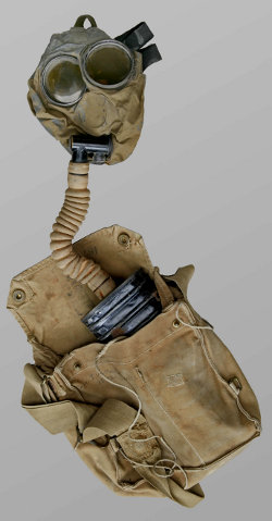 Image of a Small Box Respirator as shown on the Canadian War Museum website