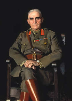 Colonel Sam Hughes<br />Minister of Militia