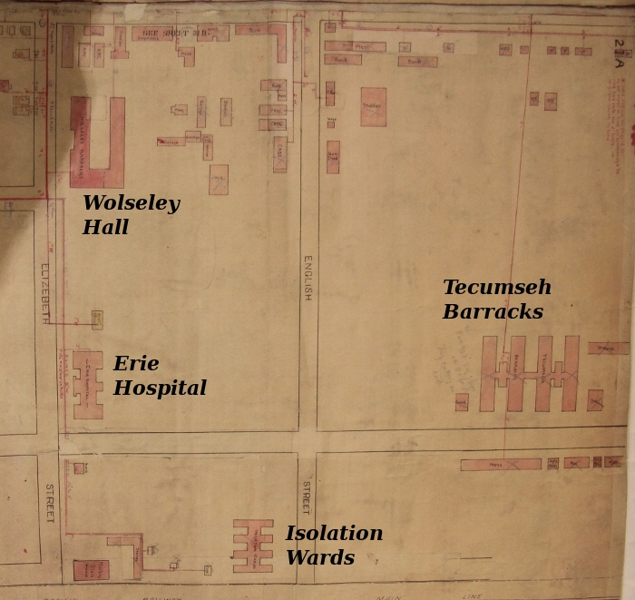 Wolseley Barracks, circa 1920s